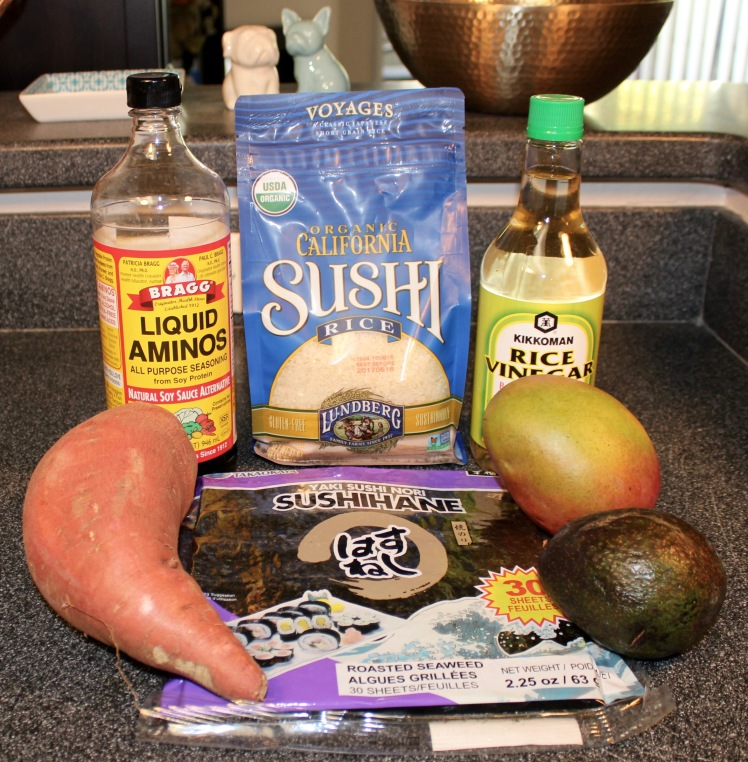 vegetarian sushi ingredients