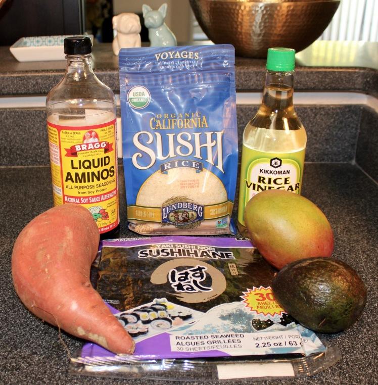 vegetarian sushi ingredients