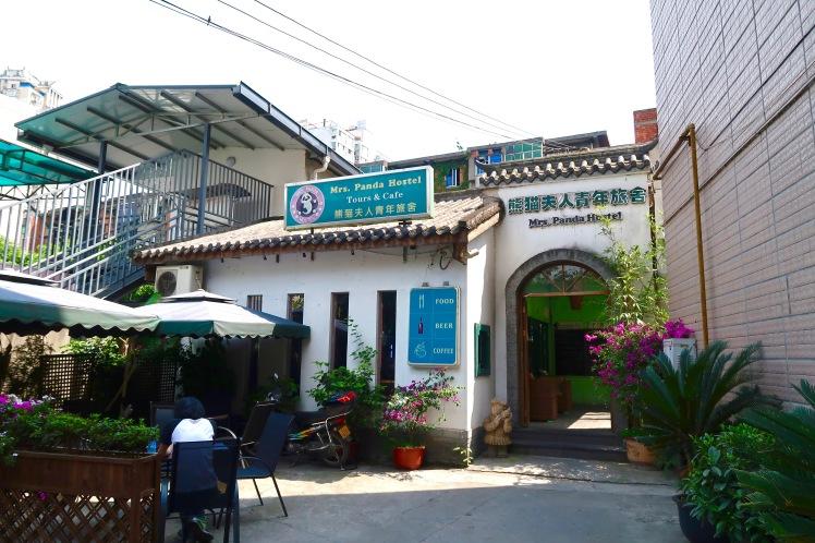 mrs panda hostel chengdu